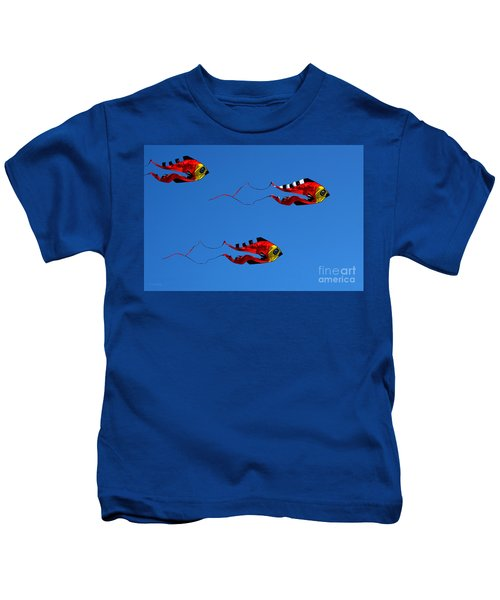 It's A Kite Kind Of Day Kids T-Shirt