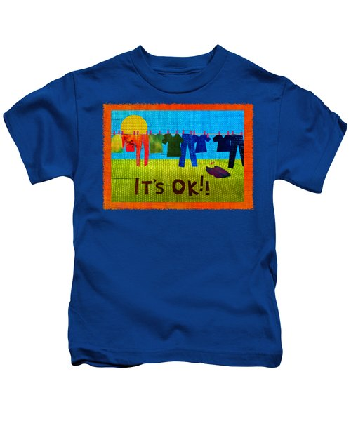 Ok Transparent Kids T-Shirt