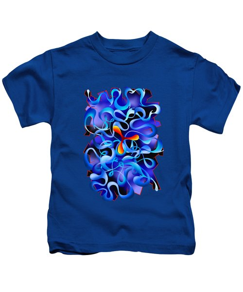 Jamurina V3 - Digital Abstract Kids T-Shirt