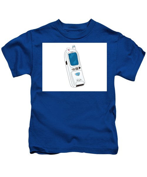 Japanese Classic Phone Kids T-Shirt