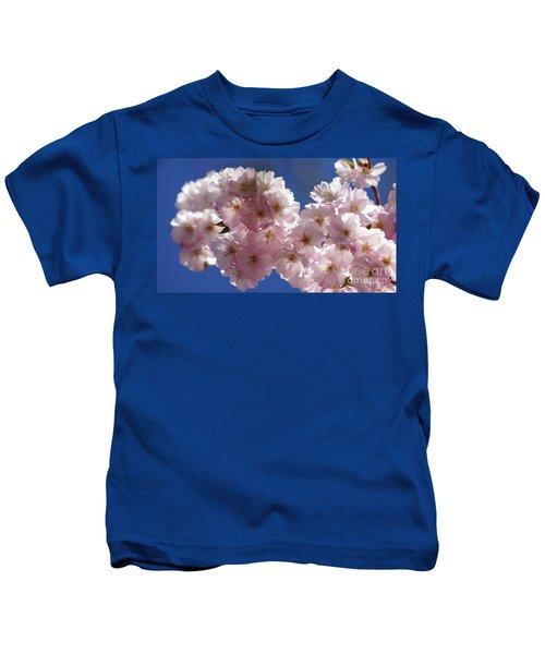 Japanese Flowering Cherry Prunus Serrulata Kids T-Shirt