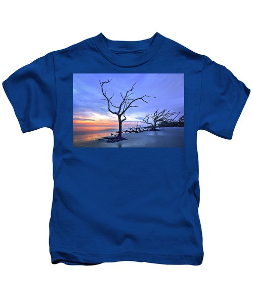 Jekyll Island Sunrise  Kids T-Shirt