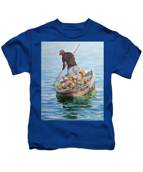 Jewels Of The Sea Kids T-Shirt