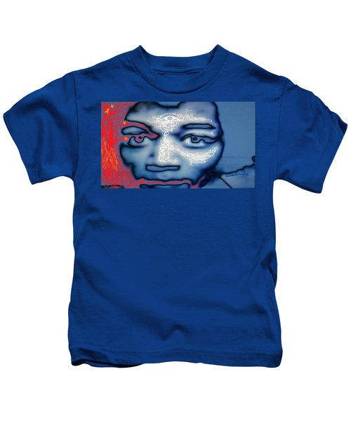 Jimi Hendrix Oh Say, Can You See The Rockets Red Glare Kids T-Shirt