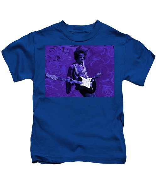 Jimi Hendrix Purple Haze Kids T-Shirt