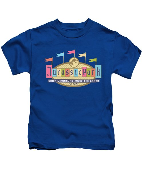 Jurassic Land Kids T-Shirt