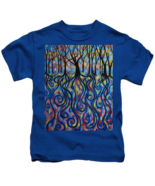 Kaleidoscope Forest Kids T-Shirt