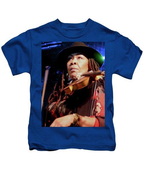 Karen Briggs 2017 Hub City Jazz Festival - Pause Kids T-Shirt