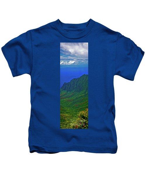 Kauai  Napali Coast State Wilderness Park Kids T-Shirt