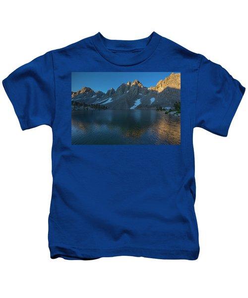 Kearsarge Lakes Morning Kids T-Shirt