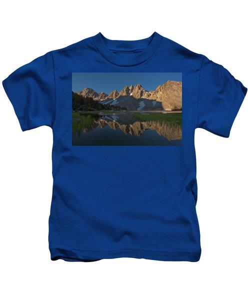 Kearsarge Lakes Morning II Kids T-Shirt
