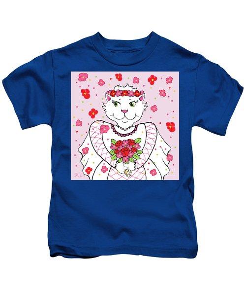 Kitty Bride Kids T-Shirt