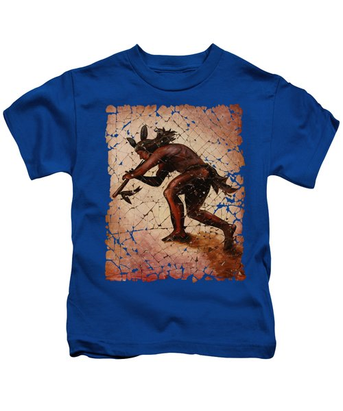 Kokopelli Flute Player Kids T-Shirt