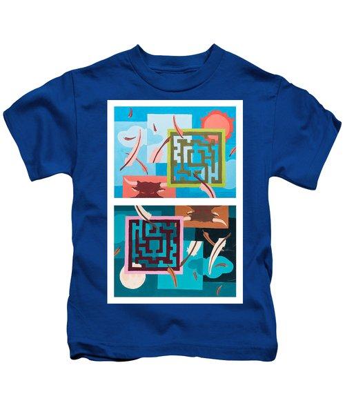 Labyrinth Night And Day Kids T-Shirt