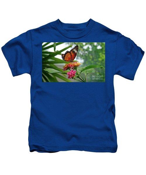 Lacewing Butterfly Kids T-Shirt
