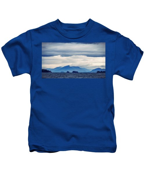 Lake George Is The Queen Of American Lakes Kids T-Shirt