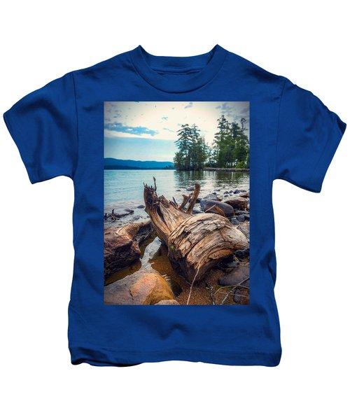 Lake George Palette Kids T-Shirt