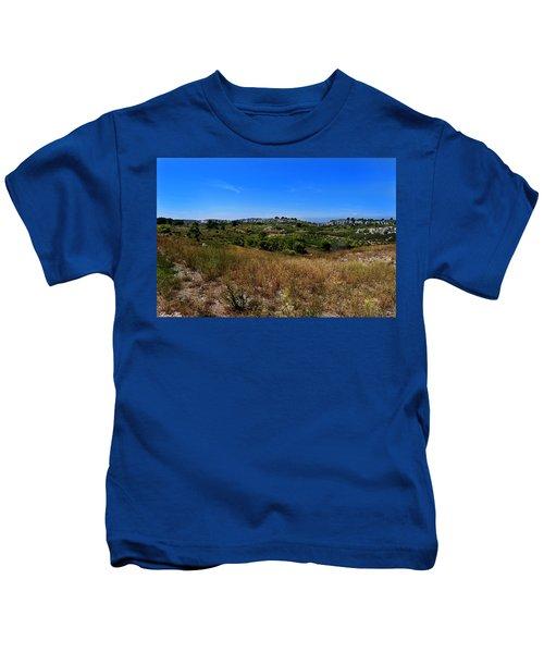 Le Massif De La Clape Kids T-Shirt