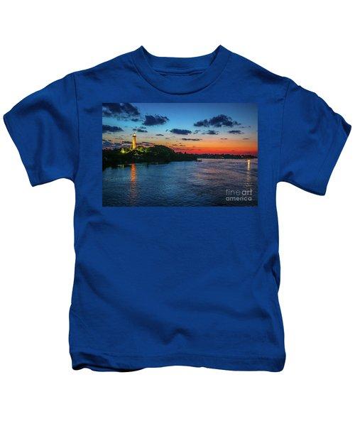 Lighthouse Light Beam Kids T-Shirt