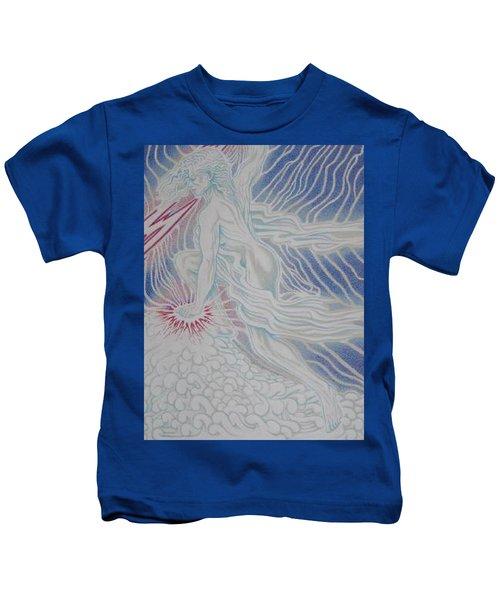 Lightning Goddess Kids T-Shirt