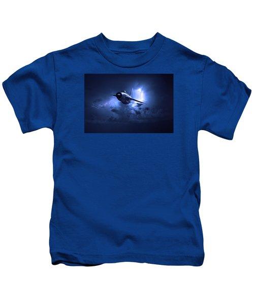 Lightning Storm Kids T-Shirt