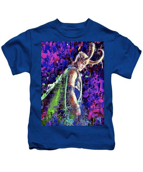 Loki Ready For War Kids T-Shirt