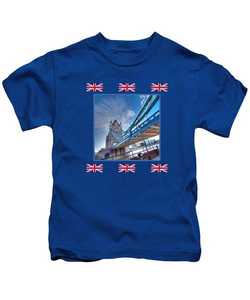 London Landmark - Tower Bridge Kids T-Shirt