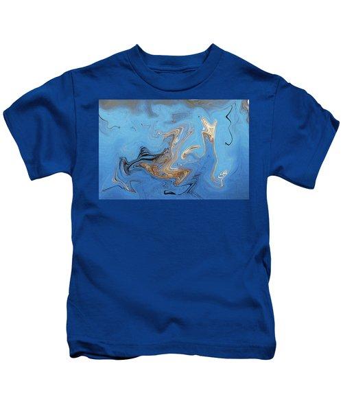 Loop Pond Dance Kids T-Shirt