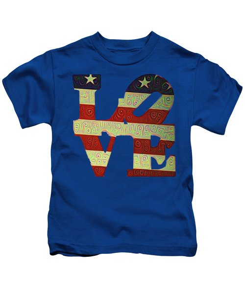 Love The Usa Kids T-Shirt