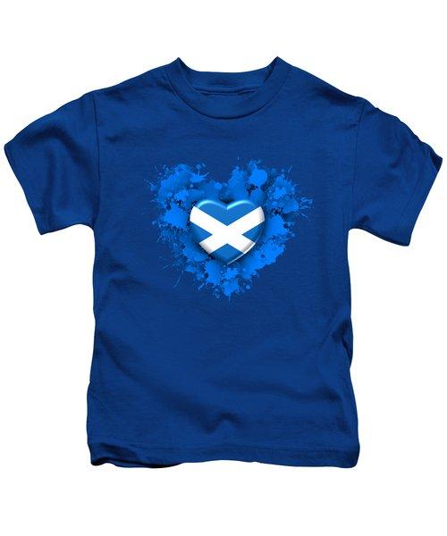 Love To Scotland. 1 Kids T-Shirt