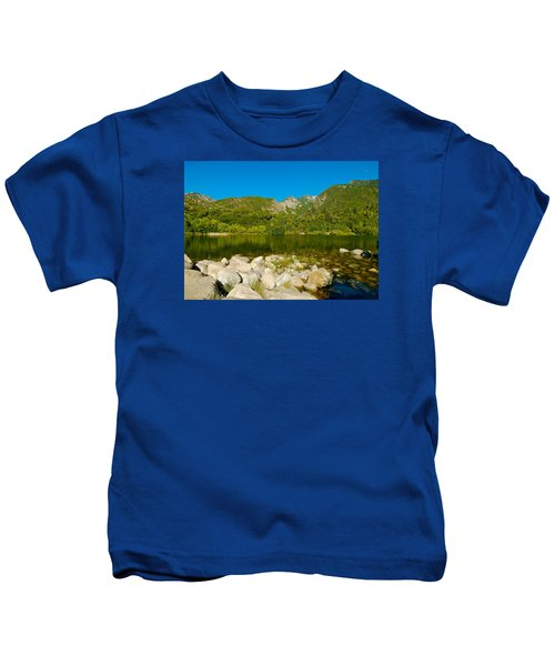 Lower Bells Canyon Reservoir Kids T-Shirt
