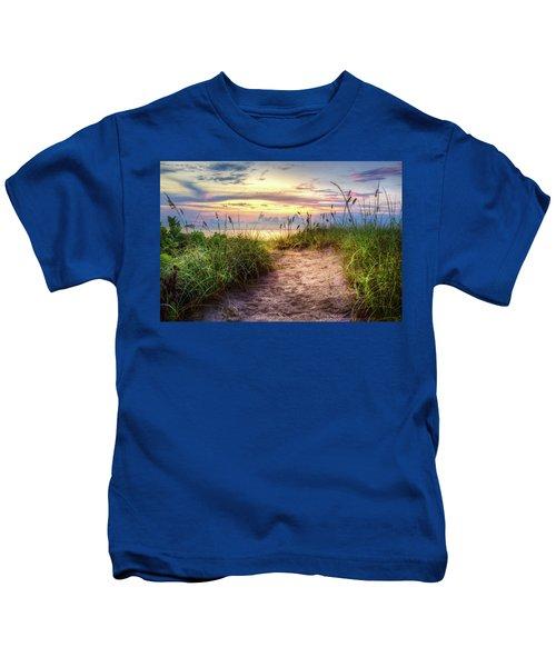 Magical Light In The Dunes Kids T-Shirt