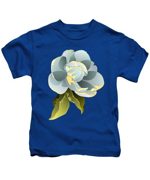 Magnolia Blossom Graphic Kids T-Shirt