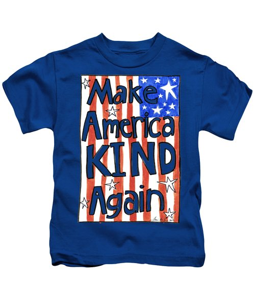 Make America Kind Again Kids T-Shirt