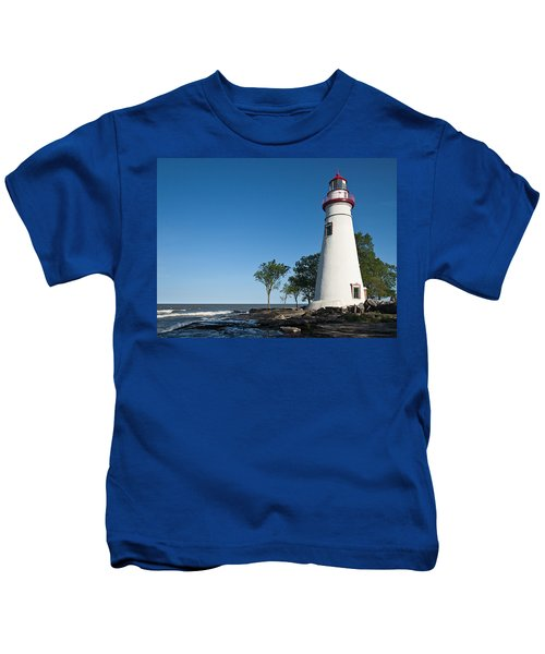 Marblehead Lighthouse Kids T-Shirt