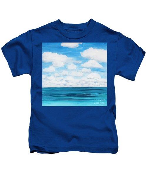Marine Layer Breaking Up Kids T-Shirt
