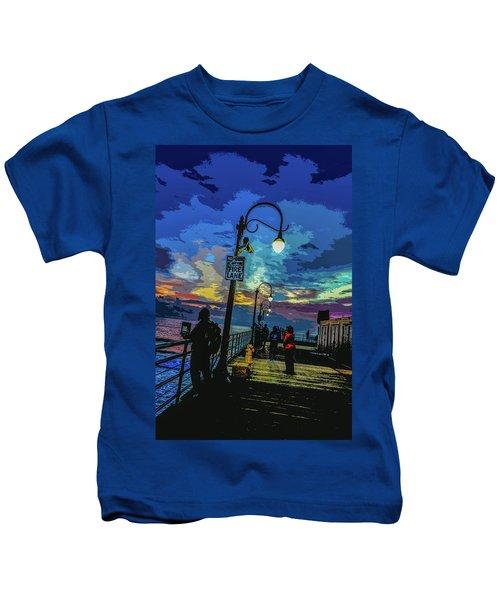Marine's Silhouette  Kids T-Shirt