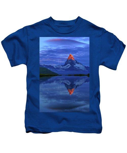 Matterhorn Sunrise Kids T-Shirt