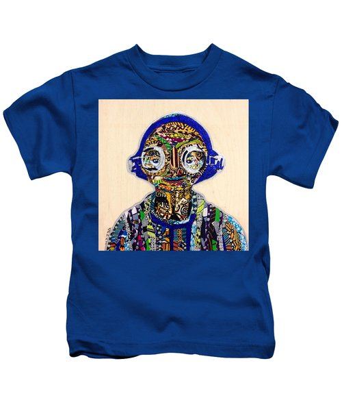 Maz Kanata Star Wars Awakens Afrofuturist Colection Kids T-Shirt