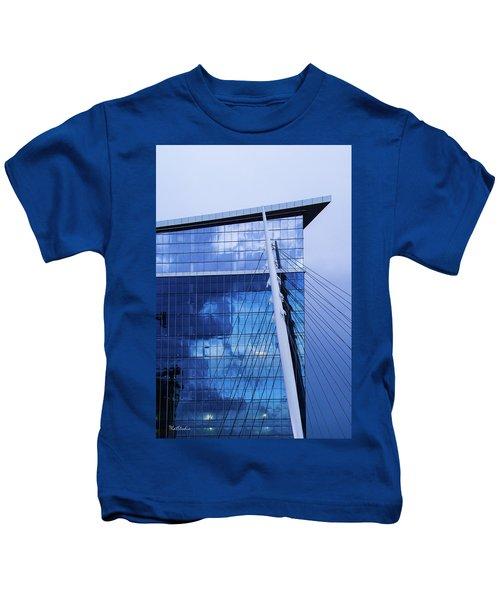 Milennium Bridge Spire Kids T-Shirt