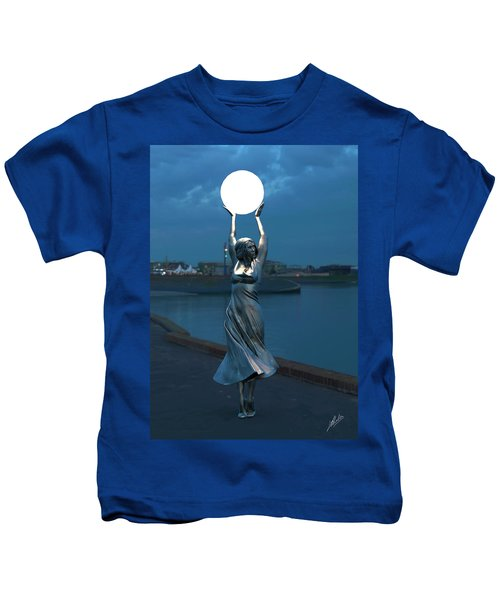 Modernist Streetlight 04 Kids T-Shirt