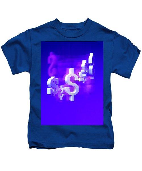 Money Problems Kids T-Shirt