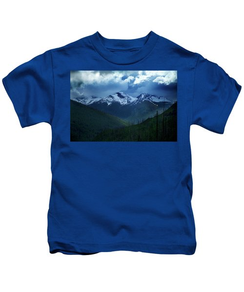 Montana Mountain Vista #2 Kids T-Shirt