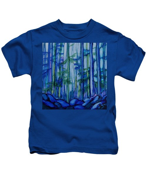 Moonlit Forest Kids T-Shirt