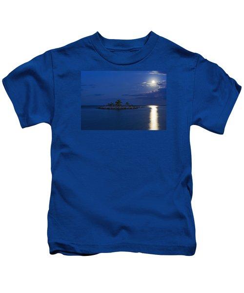 Moonlight Island Kids T-Shirt