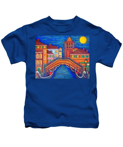 Moonlit San Barnaba Kids T-Shirt