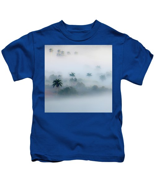 Morning Fog, Vinales Valley Kids T-Shirt