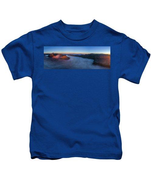 Mount Bromo Scenic View Kids T-Shirt