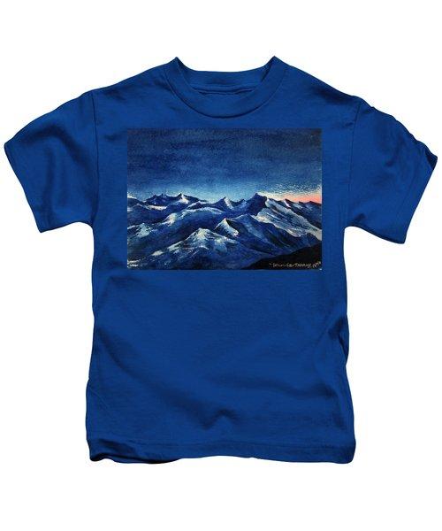 Mountain-4 Kids T-Shirt