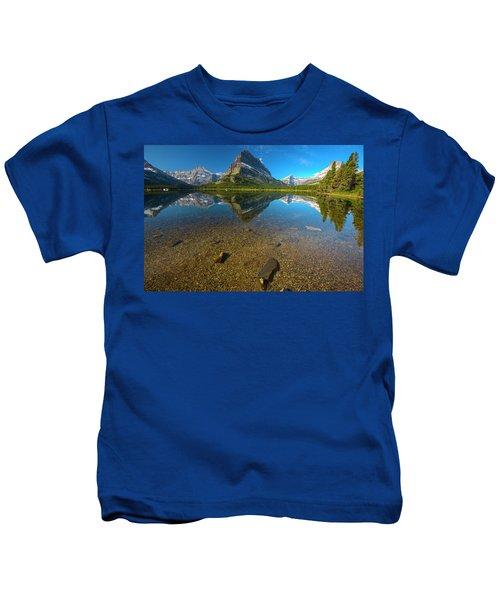 Mt. Grinnell Kids T-Shirt